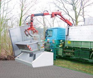Montierte Kadavarkühlbox